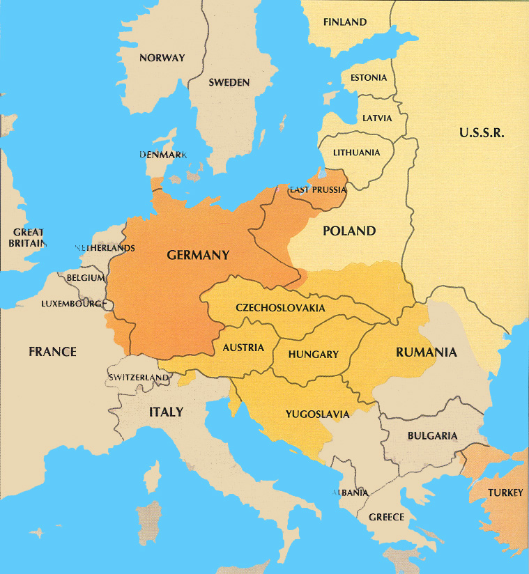 World war i mr browns history classes picture new countries after wwi carved out of german gumiabroncs Choice Image